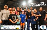 Wrestling for Warriors VIP 1 logos