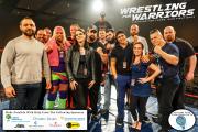 Wrestling for Warriors VIP 2 logos
