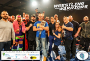 Wrestling for Warriors VIP 3 logos
