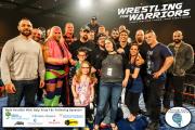 Wrestling for Warriors VIP 4 logos
