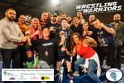 Wrestling for Warriors VIP 5 logos